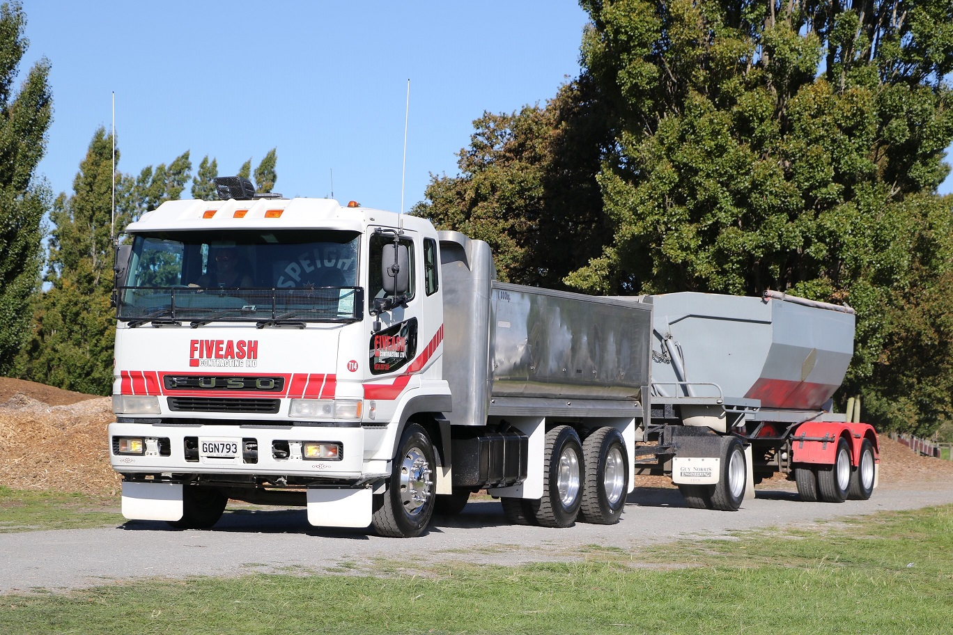 aggregate delivery chch